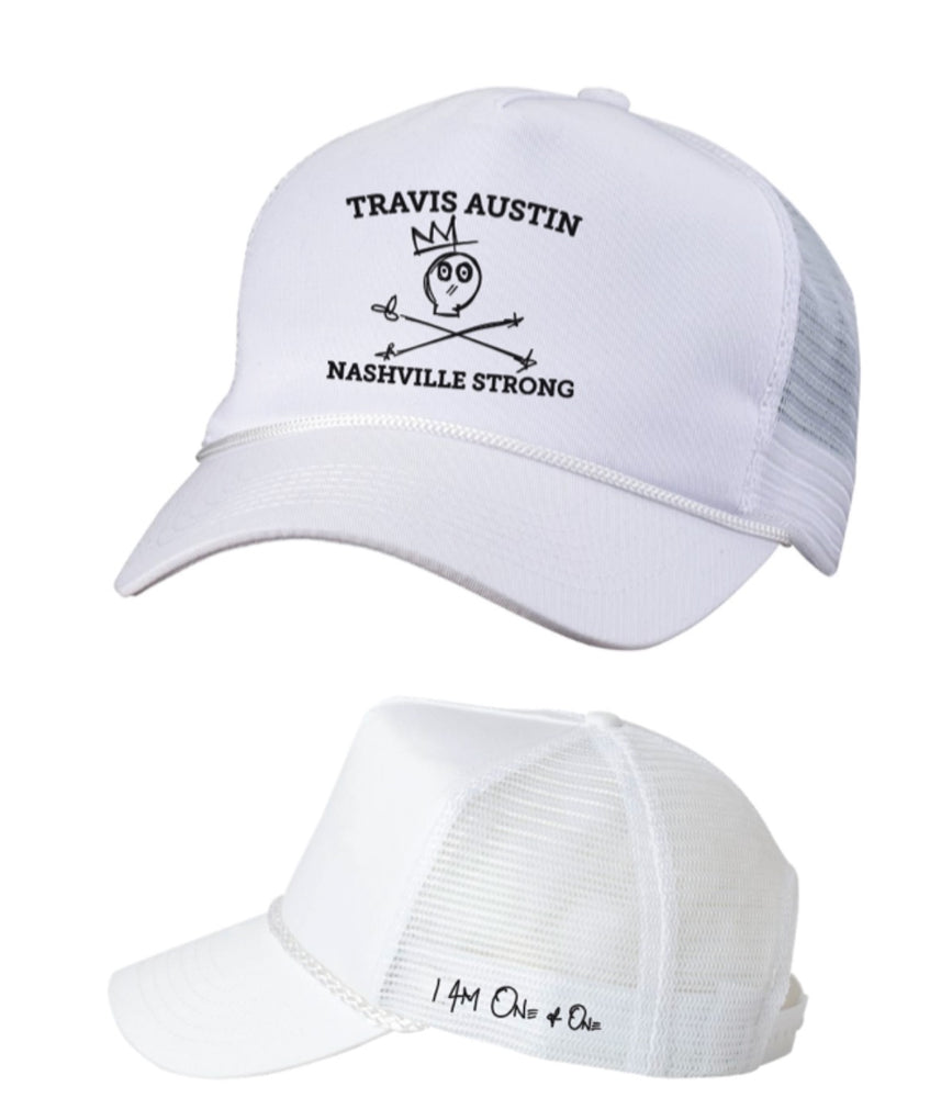 Nashville Strong Rope Trucker [White]