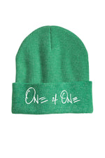 One Of One Cuffed Beanie [Heather Green]