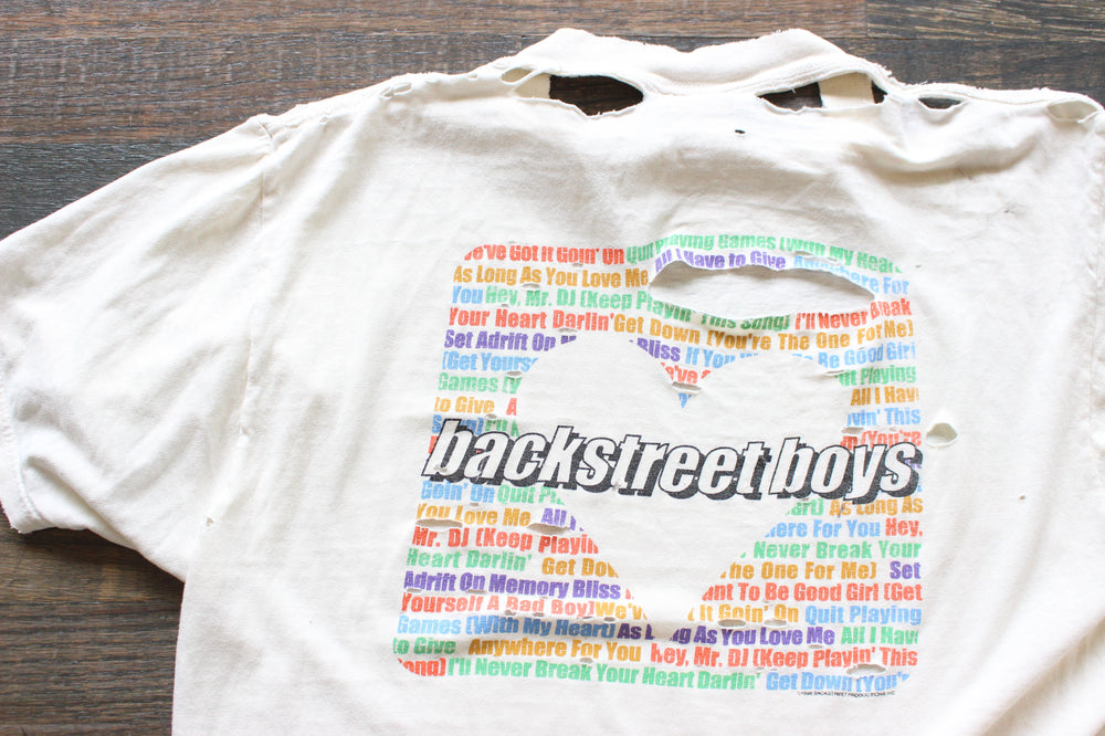 "1998/99 Backstreet Boys ""Backstreet's Back"""