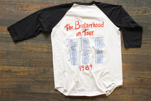 "1989 Bon Jovi ""Brotherhood on Tour"""