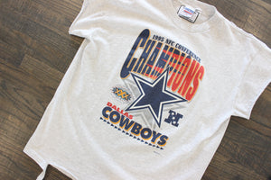 1995 Dallas Cowboys NFC Champions T shirt