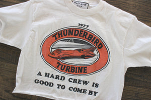 1977 Thunderbird LA Crop Top