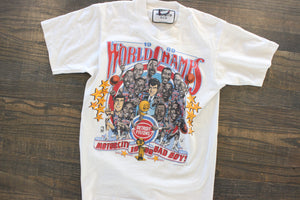 Vintage Detroit Bad Boys T shirt