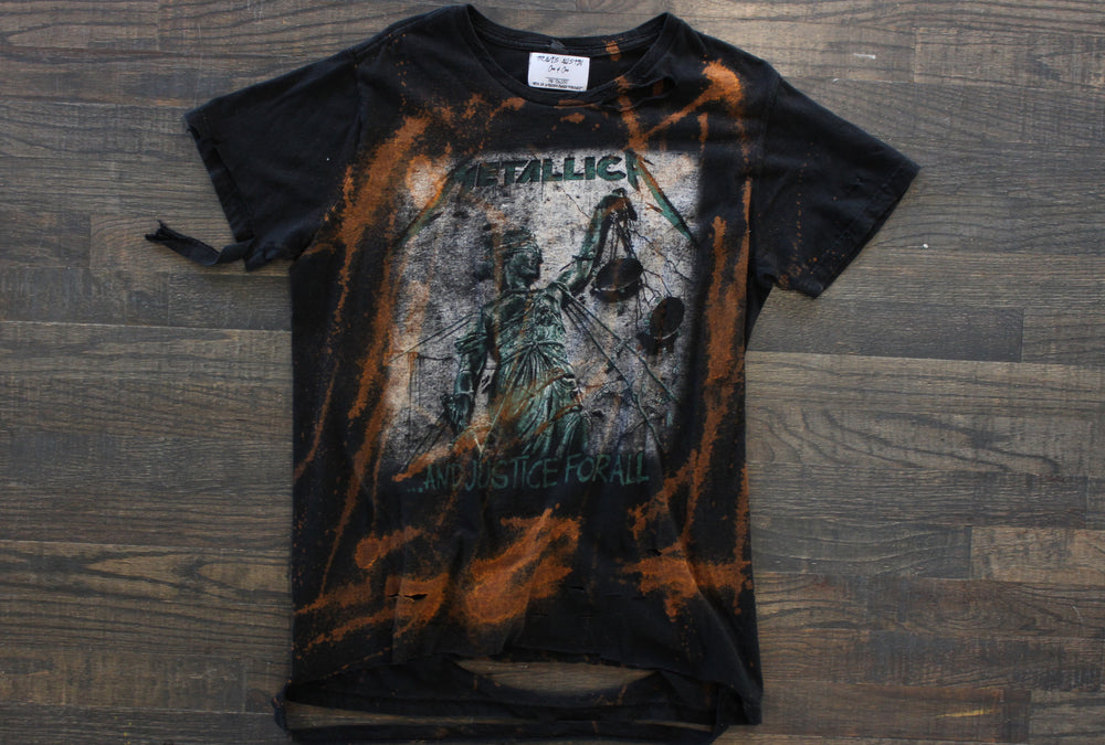 "Metallica ""Justice for All"" Destroyed Reprint"