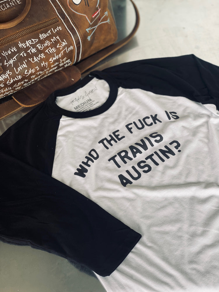 Who The F*** Raglan Shirt