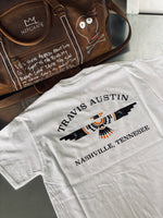 Travis Austin Nashville T Shirt - White