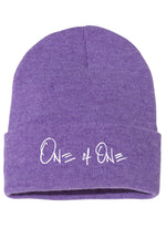 One Of One Beanie [Purple]