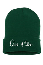 One Of One Cuffed Beanie [Spruce]