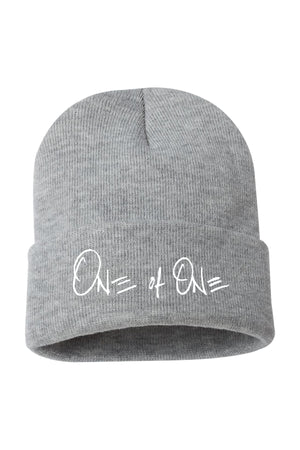 One Of One Cuffed Beanie [Heather Grey]