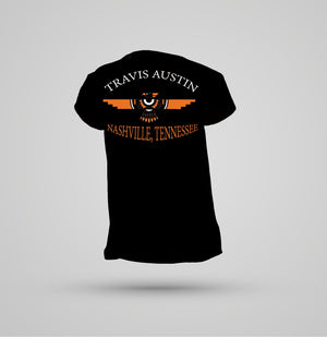 Travis Austin Nashville T Shirt - Black