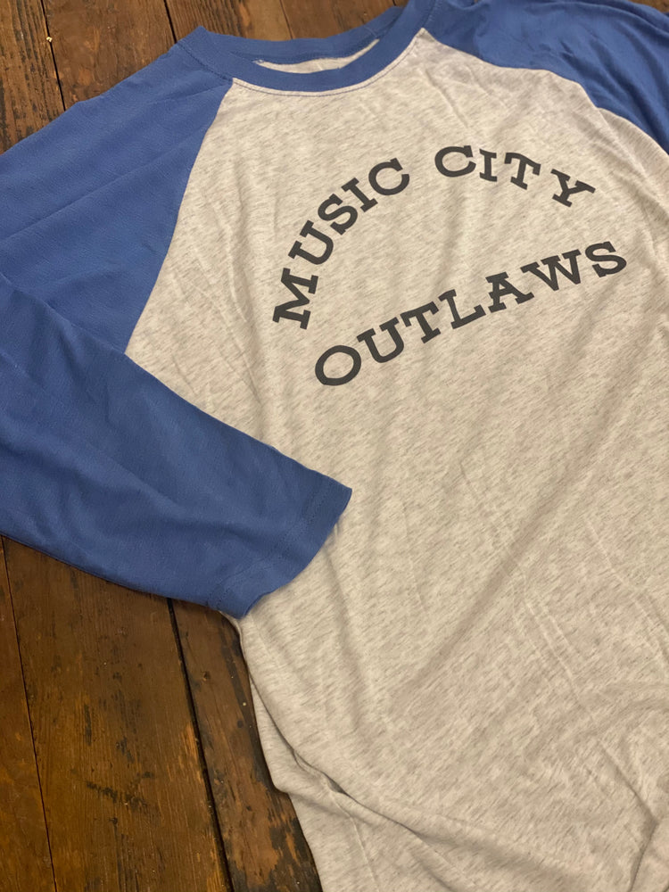 Music City Outlaws Raglan