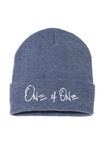 One Of One Cuffed Beanie [Heather Navy Blue]