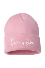 One Of One Cuffed Beanie [Light Pink]
