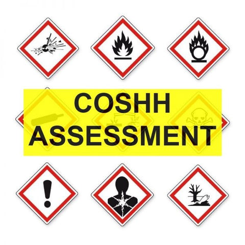 COSSHH assessment templates