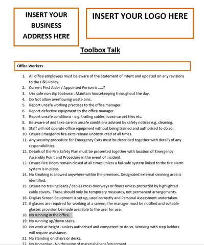 Office Workers Template