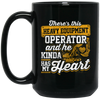 This Heavy Equipment Operator Has My Heart - Mugs