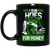 I Run Hoes For Money (green) Mugs