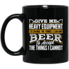 Heavy Equipment and Beer Mugs
