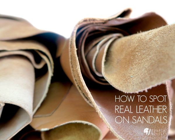 How To Spot Real Leather On Sandals
