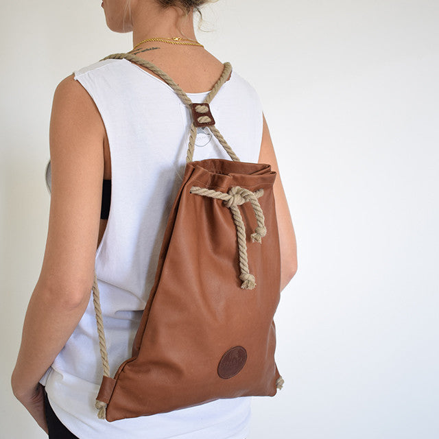 Giorgia Unisex Bag Suede Leather