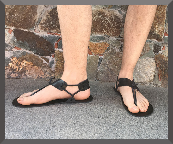 Andros Men Barefoot Sandals - Sparta Sandals