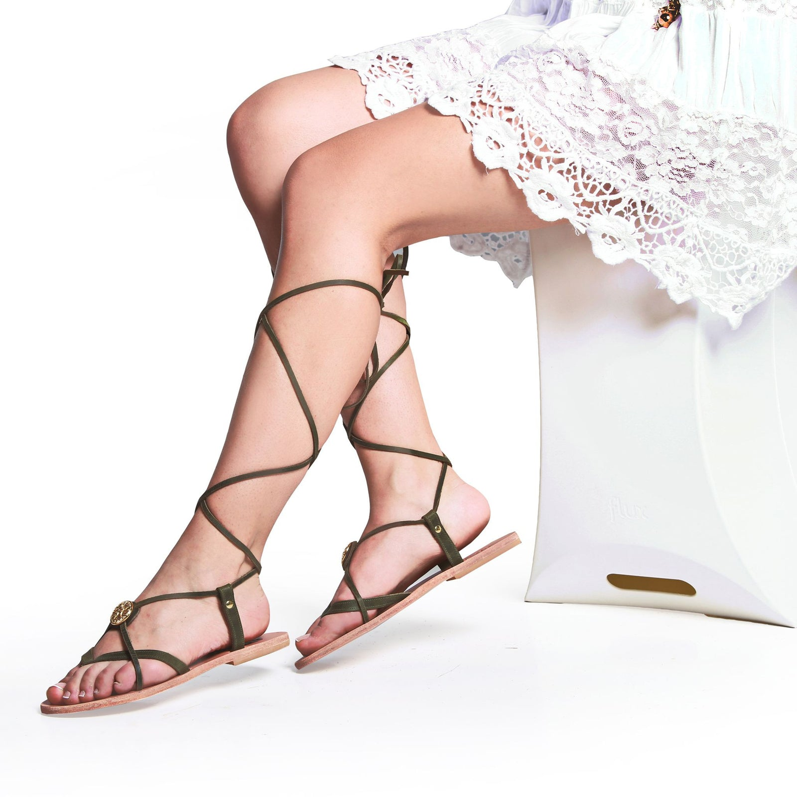 Grace leather Sandals