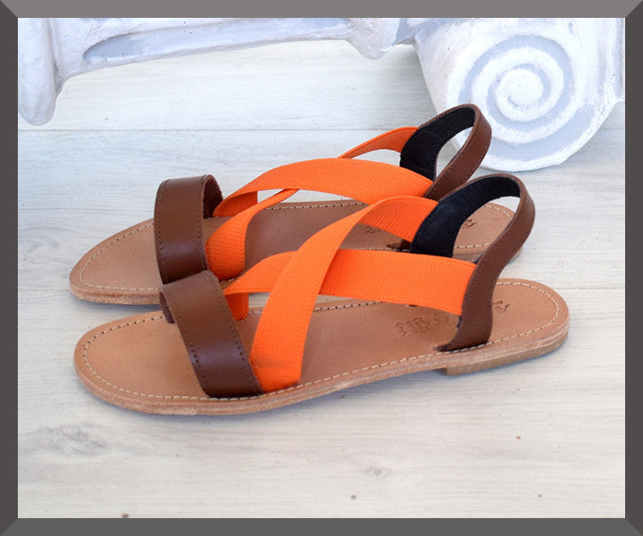 Safonidi Orange Brown Three