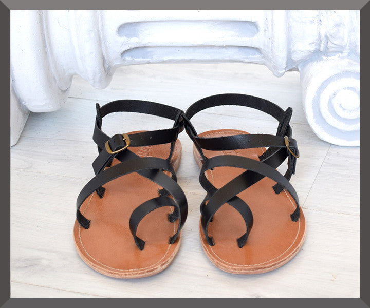 leather strap Sandals for men