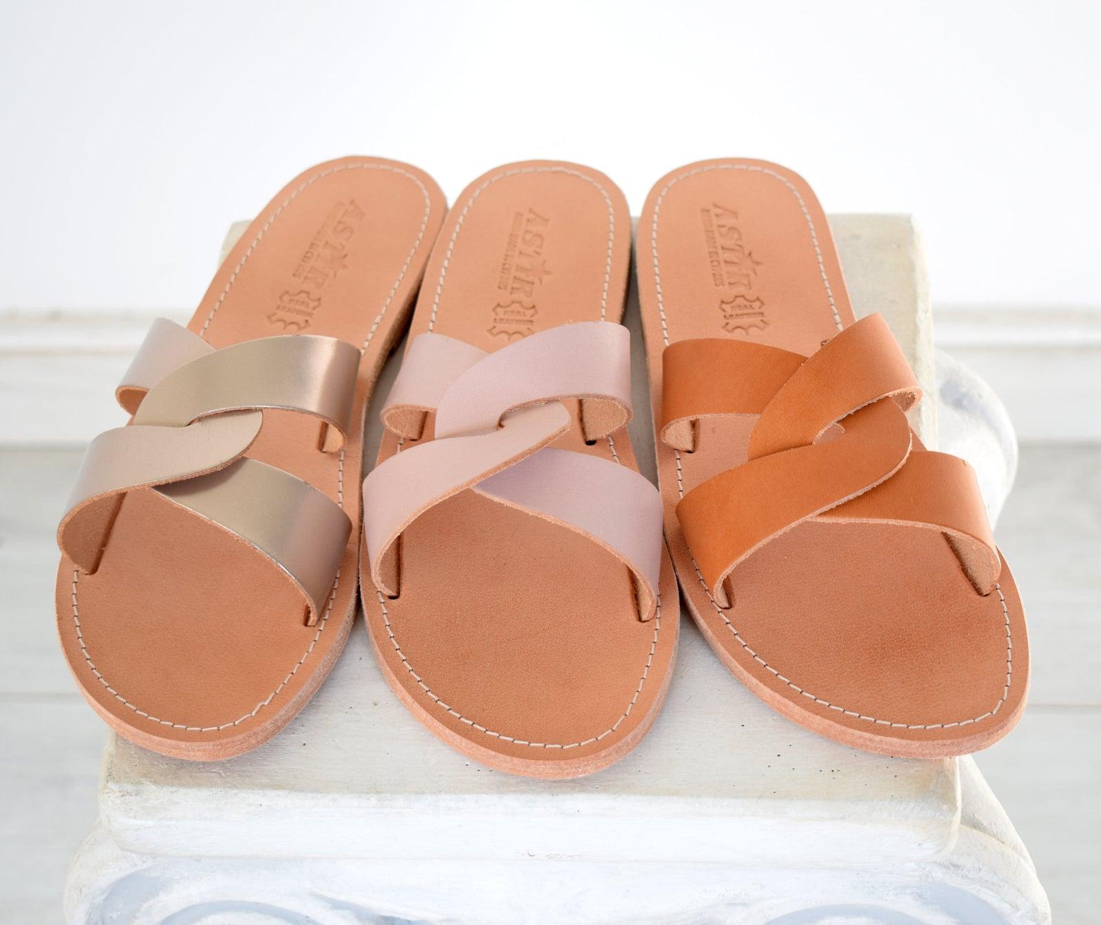 Ancient Greek leather sandals, Tan natural sandals, Women Greek leather sandals, Leather sandals, Women's leather sandals YASEMI