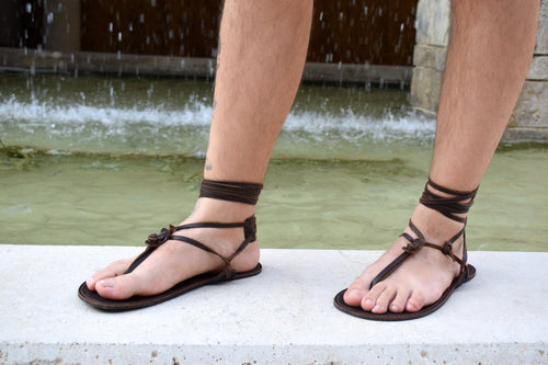 Barefoot men sandals, Leather Sandals, barefoot shoes, Beach wedding Barefoot Sandals, Leather Flats, beach shoes, flat sandals.