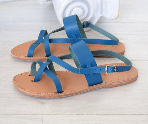 Greek handmade leather sandals made with Genuine Leather. roman sandals, ancient Grecian sandal, women leather sandals NYSA