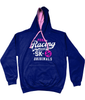 SK Flow Hoodie For Women in Navy/Pink