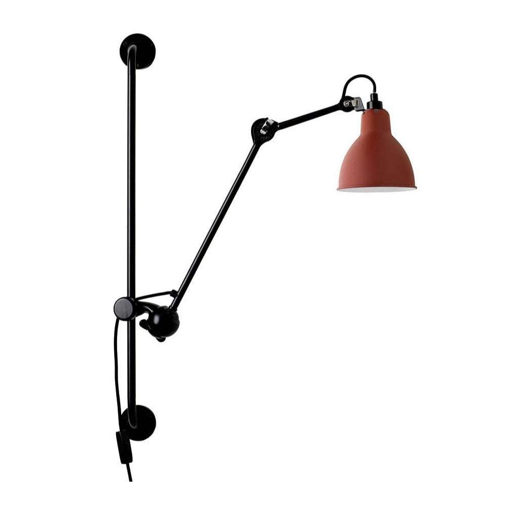 DCW Lampe Gras 210 Wall Lamp Red, Lighting