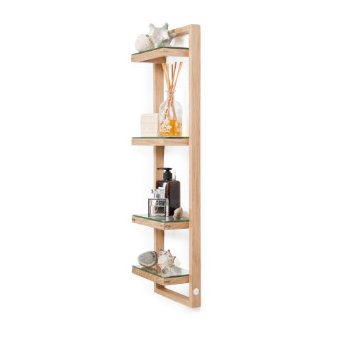 Wireworks Zone Wall Shelf Natural Oak, Accessories