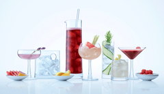Gin Cocktail Glass Set | LSA International | Gudang Malaysia