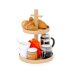 Two Tier Fruit and Condiment Stand