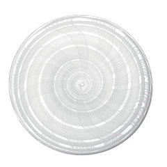 LSA International Linen platter 35cm white, Accessories