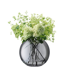 LSA International Polka vase 24cm sheer zinc, Accessories