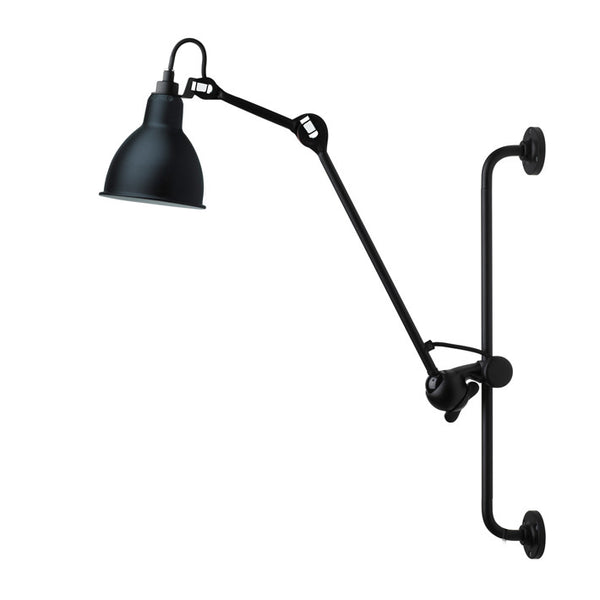 DCWLampe Gras 210 Wall Lamp Black, Lighting