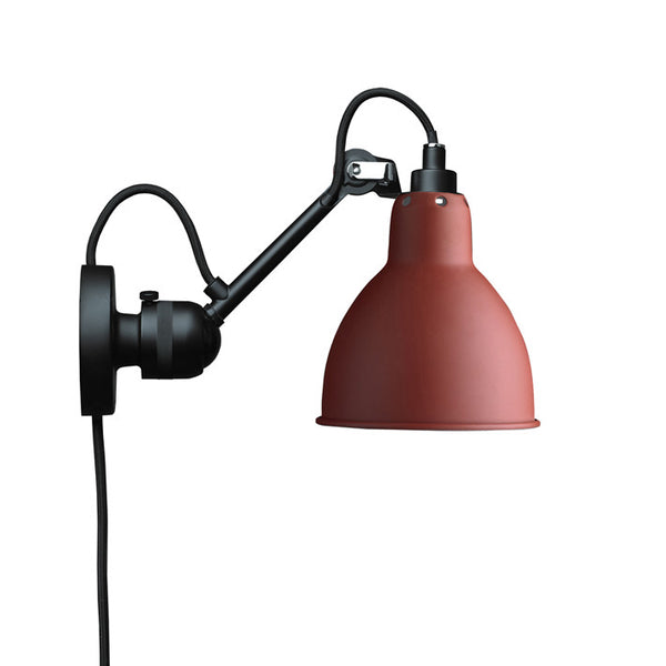 DCWLampe Gras 304 Wall Lamp Red, Lighting
