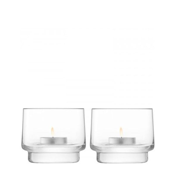 City Bar tealight holder x 2