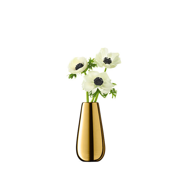 LSA InternationalFlower Metallic Bud Vase Gold, Accessories