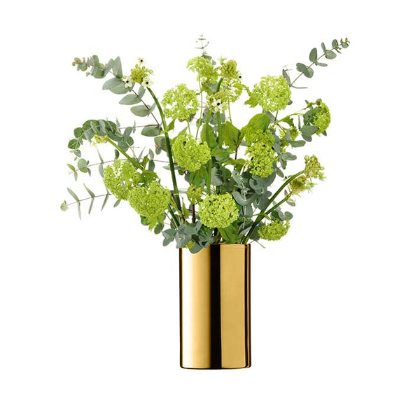 LSA InternationalFlower Metallic Cylinder Vase Gold, Accessories
