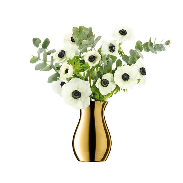 LSA InternationalFlower Metallic Posy Vase Gold, Accessories