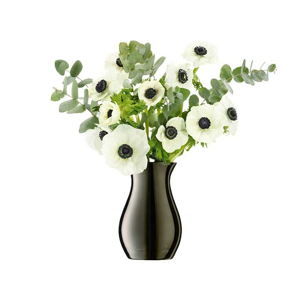 LSA InternationalFlower Metallic Posy Vase Platinum, Accessories