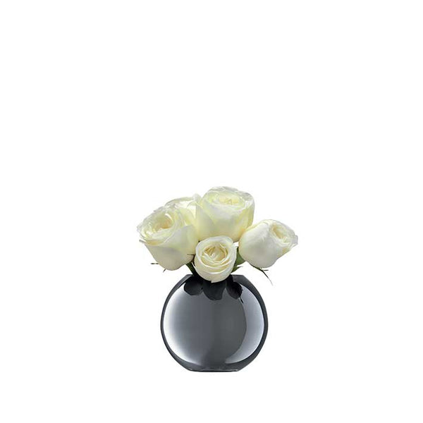 LSA InternationalPolka Vase 11cm Platinum, Accessories