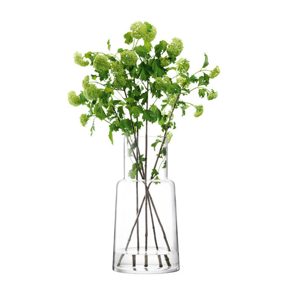 Chimney Vase 53cm Clear