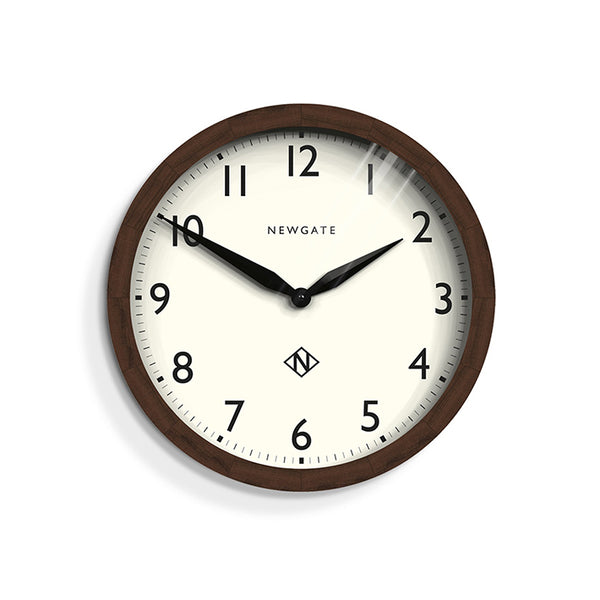 Wimbledon Clock in Solid Wood