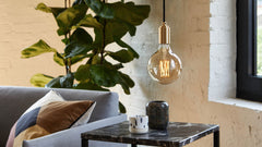 Tala Brass Pendant, Lighting