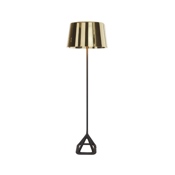 Base Floor Light Polished Brass
